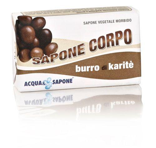 Saponetta corpo al burro di karite\' 250 g