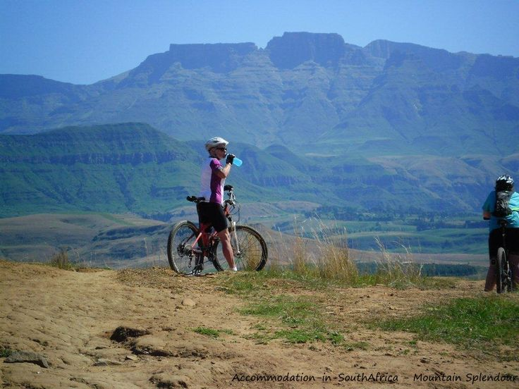 Moutain bikes for hire at Mountain Splendour Eco-Resort. Accommodation at Mountain Splendour Resort. Central Drakensberg accommodation.