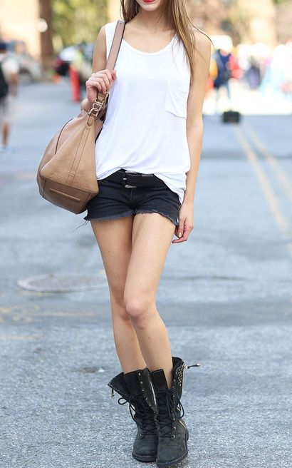 17 Best ideas about Combat Boots Shorts on Pinterest | Grunge ...