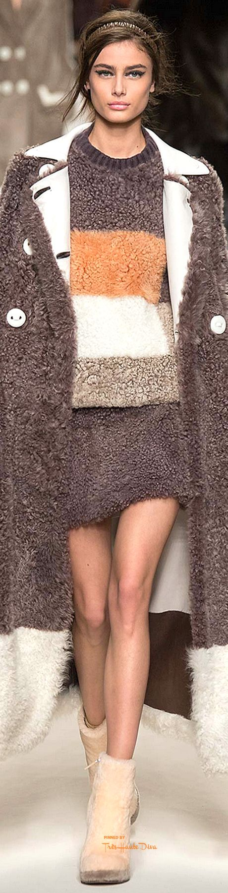 Fendi, Fall 2015 RTW - i would wear the heck outta this