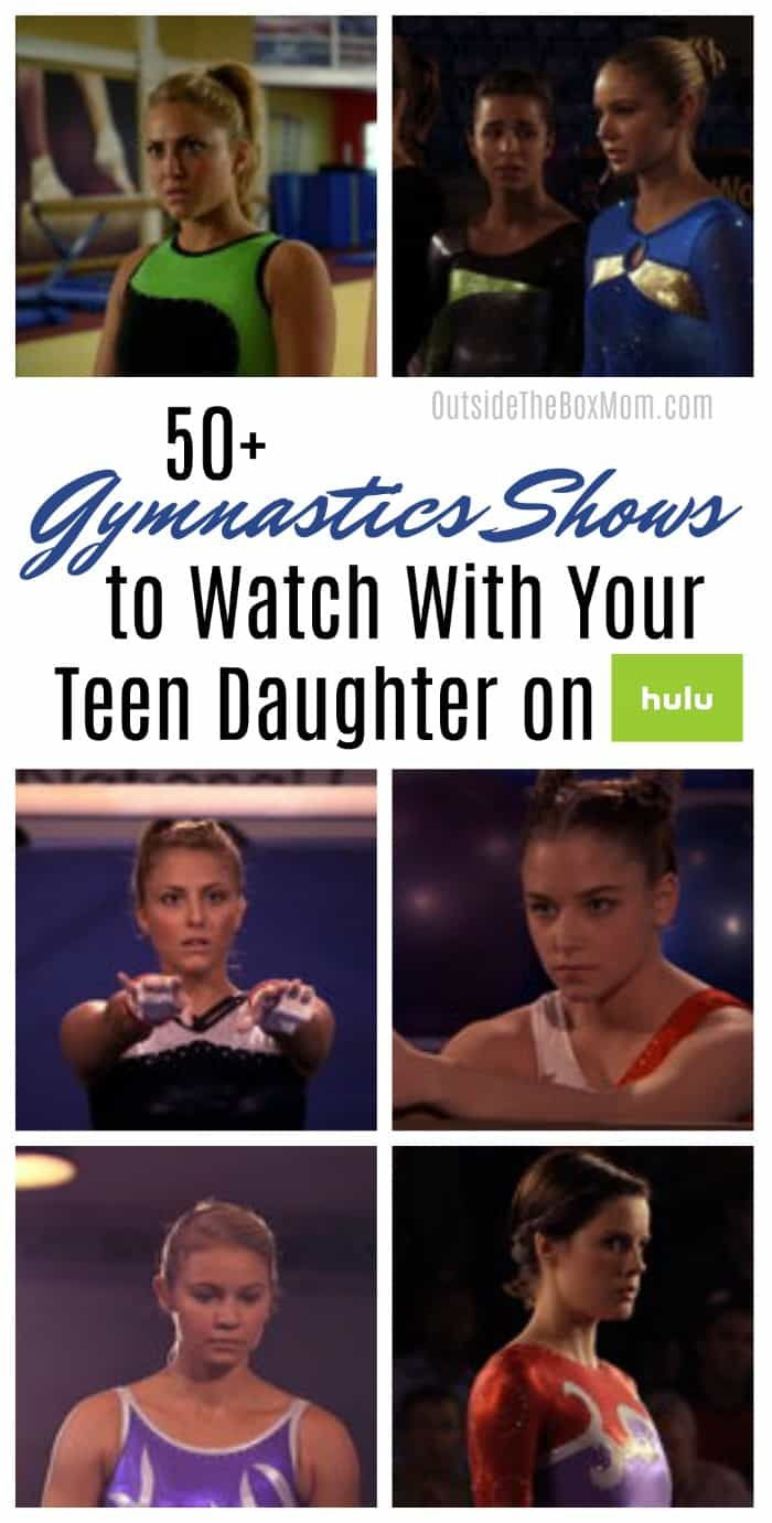 50 Gymnastics Shows On Hulu All Things Gymnastics Movies Gifts