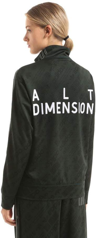 18c34ac7be91 Adidas Originals By Alexander Wang Alt Dimension Jacquard Track Jacket