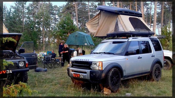 tente de toit tente camping bivouac 4x4 hussarde quatro 4 places toit rigide 4x4 land