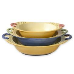 Oval Bowls, Set of 3