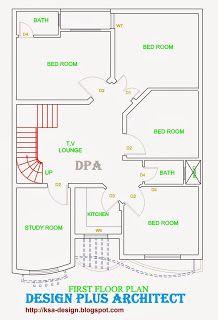 Home 2d Plan Model House Plan House Layout Plans 30x40