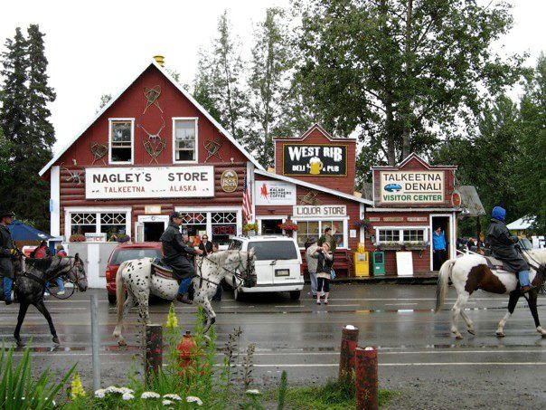 Talkeetna, Alaska - You can visit the whole village without ever having to set foot in a motorized vehicle!