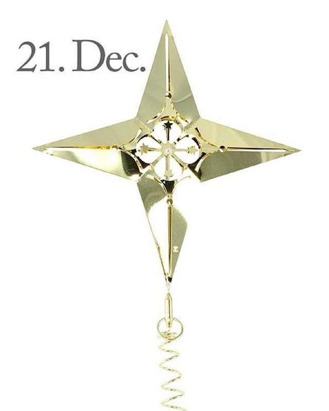 Good morning, 21 of December and only 3 days until Christmas! The design of the day is our Top & Hanging Star, Gold . Like our Facebook page & the post of the day and you might be the lucky winner! The Top & Hanging Star, Gold, costs 149,- dkk in our web-shop www.jettefroelich.dk, but for today only! (Normal price 259,-) #christmascalendar #christmasgiveaway #facebook #topandhangingstarwithstars #jettefrölich #jettefroelich #jettefrölichdesign #jettefroelichdesign #danishdesign…