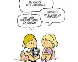 """Los españoles Rodrigo García y Noël Lang crearon las tiras cómicas tituladas """"Downtown"""" (Pueblo Down), para """"contribuir a la normalización de un colectivo que por desgracia todavía sigue siendo desconocido para muchas personas""""."""