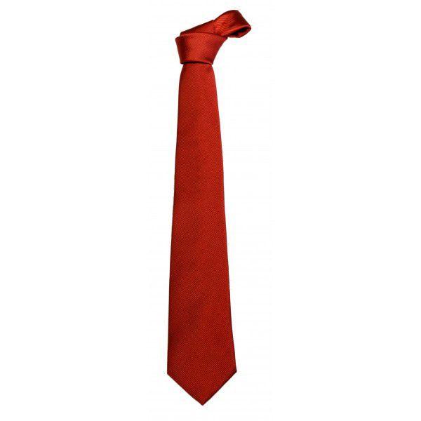 Cravatta Rossa Natale, in Dacron. Tessuto 100% poliestere. Taglia unica. Disponibile nel colore rosso.