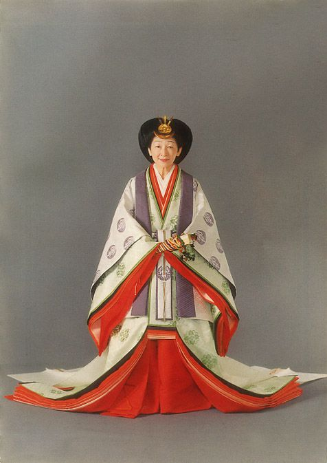 "Her majesty the Empress Michiko. ❁❁❁Thanks, Pinterest Pinners, for stopping by, viewing, re-pinning,  following my boards.  Have a beautiful day! ❁❁❁ ****✮✮""Feel free to share on Pinterest""✮✮""  #Japanese www.organicgardenandhomes.com"