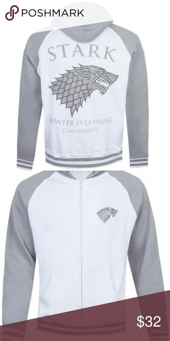 Game of thrones: Stark winter is coming Game of thrones Stark winter is coming jacket. I dont watch game of thrones but apparently that quote means something? Jackets & Coats