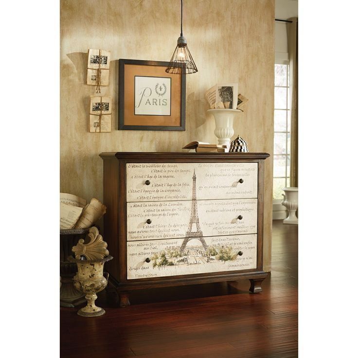 Mais, Oui! This Parisian Inspired Chest Would Look Tres Bon In The Entry Way