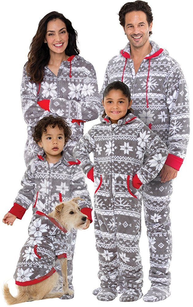 f8bc79722c7a PajamaGram Onesie Nordic Fleece Matching Family Set