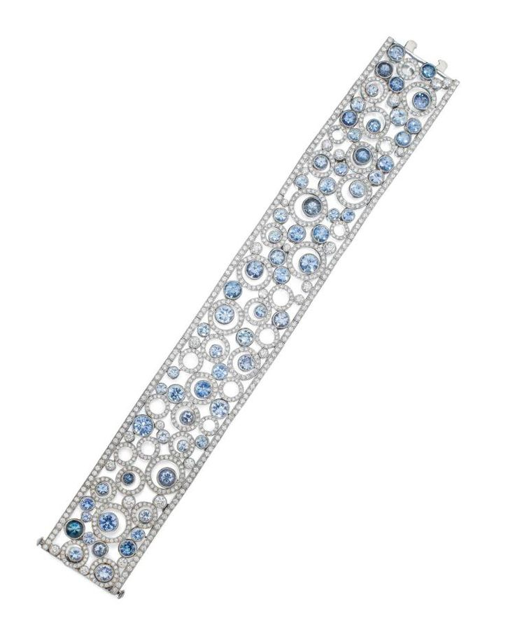 Buy online, view images and see past prices for SAPPHIRE AND DIAMOND 'FLOATING CIRCLES' BRACELET, TIFFANY & CO.. Invaluable is the world's largest marketplace for art, antiques, and collectibles.