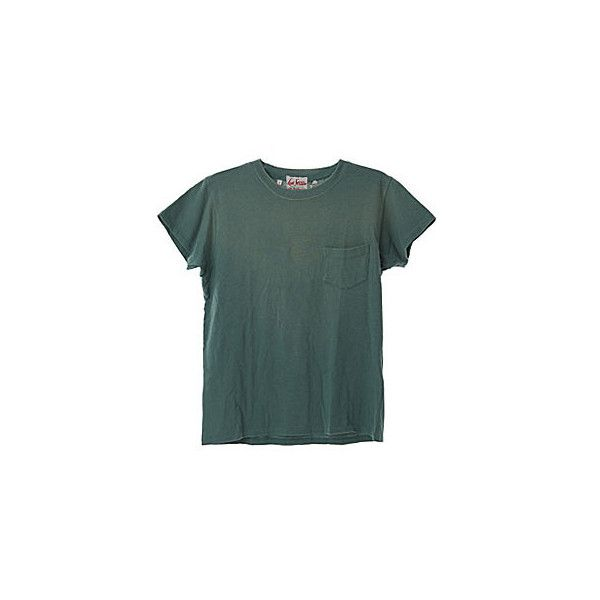 Levi's 1950 Archive S/S Green Tee ($55) ❤ liked on Polyvore featuring tops, t-shirts, shirts, tees, men, mentees, cotton tee, t shirts, green tee and levi shirts