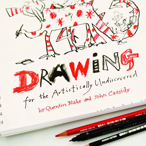 quentin blake drawing book excellent introduction to drawing for children - Drawing Books For Children