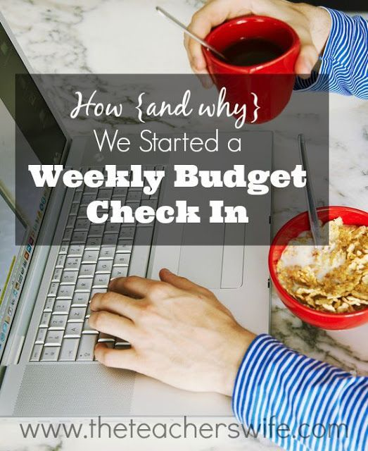 HOW {AND WHY} WE STARTED A WEEKLY BUDGET CHECK-IN. This quick and simple…