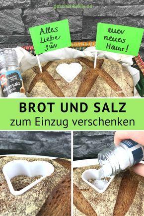 Einweihungsgeschenk brot und salz einzug haus - Brot und salz gott erhalts ...