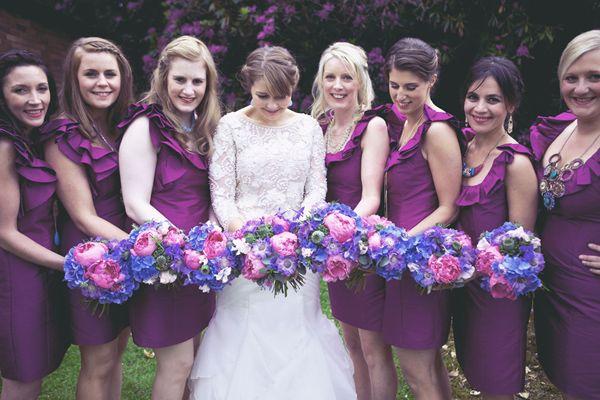Quaint Scottish Wedding