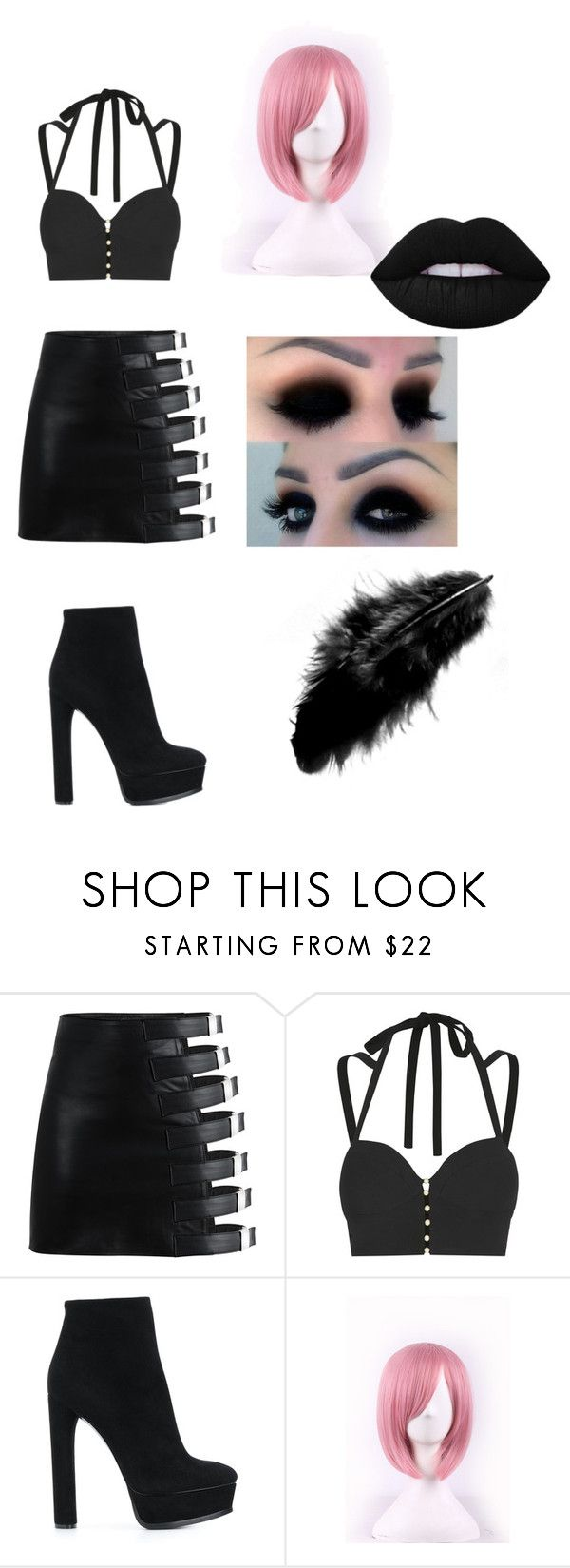 """""""♥_________♥"""" by lore-4ever-directioner on Polyvore featuring moda, Jonathan Simkhai, Casadei y WithChic"""