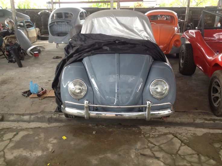 Our project 1962's vw bug  at our garage Auto Putra Paint & Body Repair