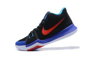 Mens Nike Kyrie 3 III EP Irving Water Lantern Royal Blue Black Red  Basketball Shoes 74116f144