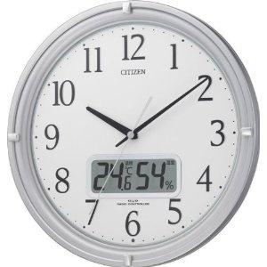 Discounted Watches - CITIZEN (シチズン) 掛時計 ネムリーナアイコン 電波時計 温度表示 湿度表示 4MY809-019 | 最新の時間センター