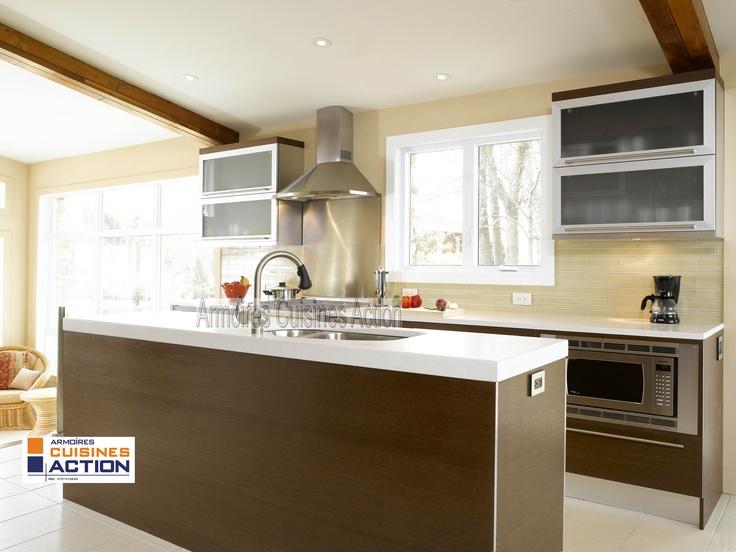 un comptoir en quartz du verre givr de l 39 aluminium et du wenge une r ussite collection. Black Bedroom Furniture Sets. Home Design Ideas