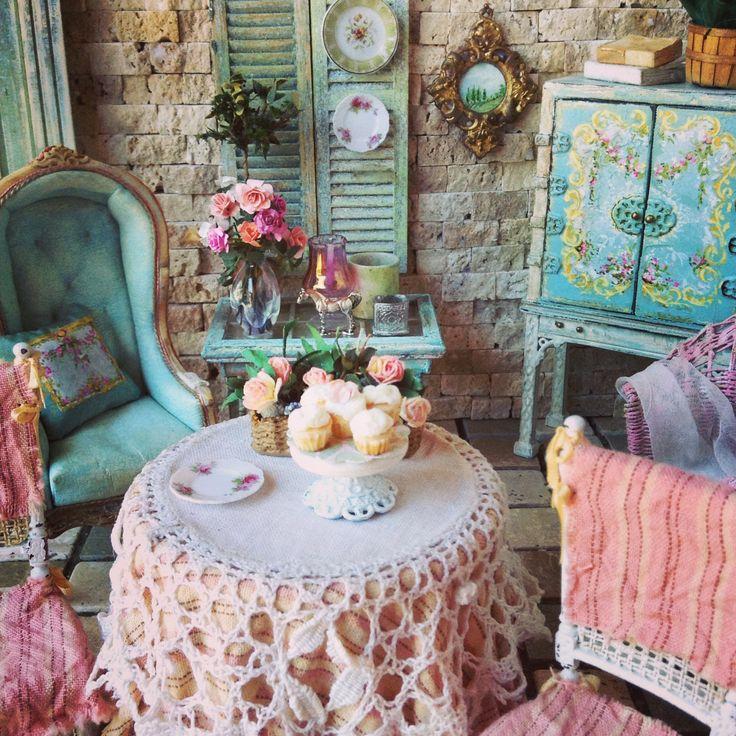 MaritzaMiniatures Summer Cottage