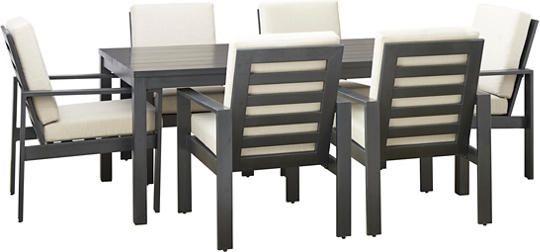 Chelsea 7pc Dining Set Art Van Furniture Outdoor Es