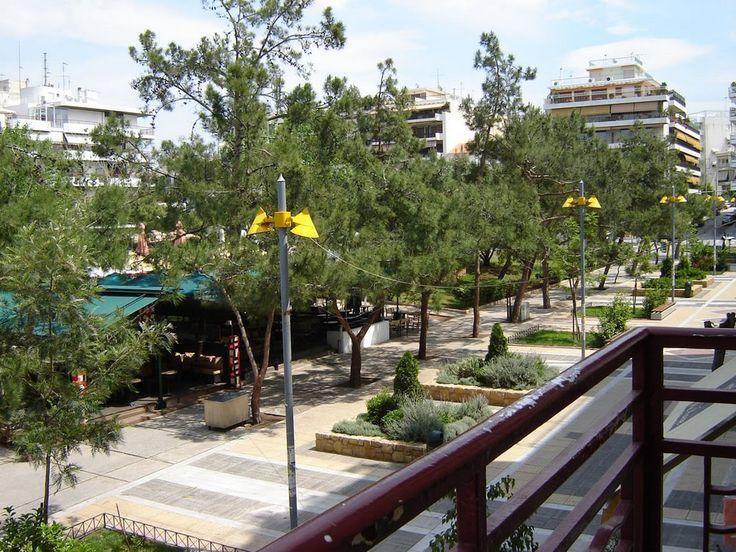 Plateia (the glorious square of Nea Smyrni)