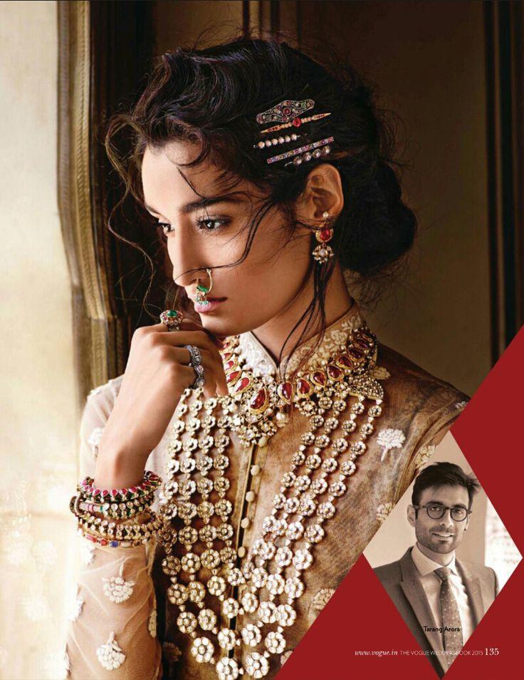 Tarang Arora - VOGUE India - The Vogue Wedding Book 2015 - September 2015