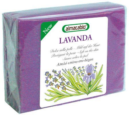Mydło lawendowe w kostce, 100 g - Almacabio