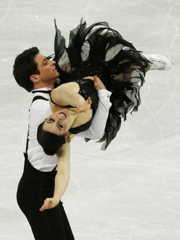 virtue moir dating 2014 Tessa virtue & scott moir are 'definitely not dating' george, who led his own rinks at the 2010 and 2014 olympic trials, joined shuster's.