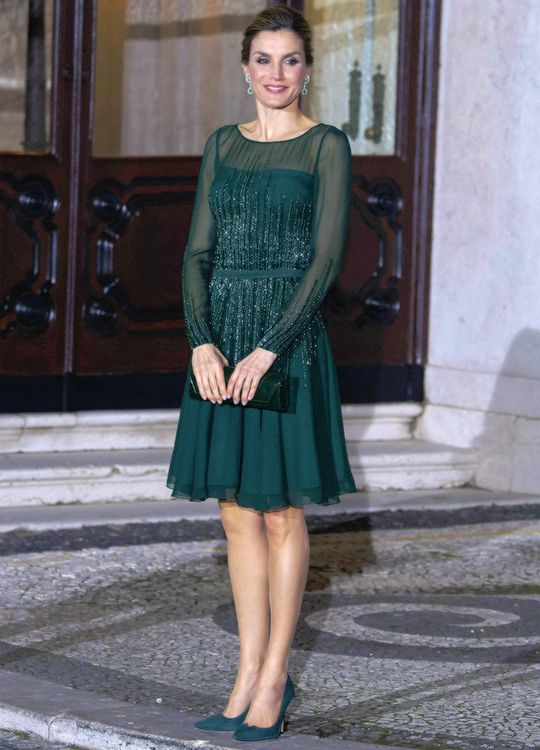 King Felipe and Queen Letizia on their 2nd day of State Visit to Portugal | 29.11.2016 - click to read more