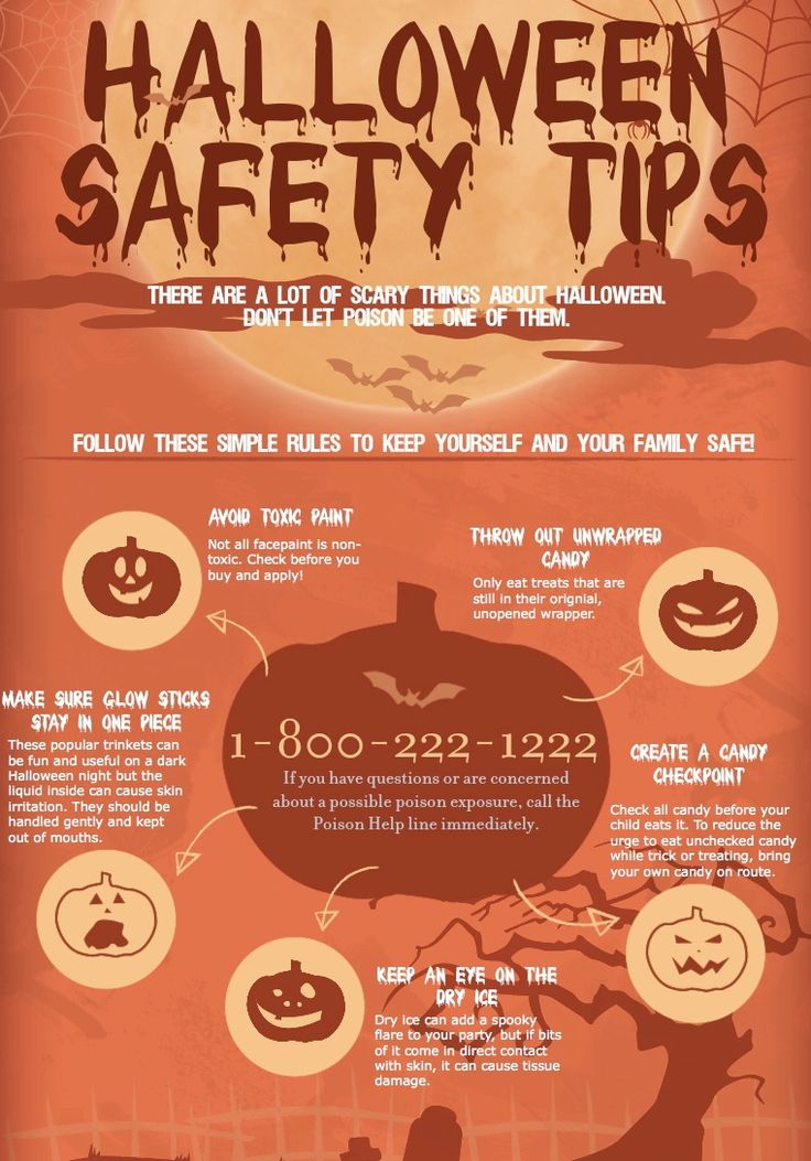 remember these tips and have a happy halloween call poison control if you need them they are available at - Halloween Tips