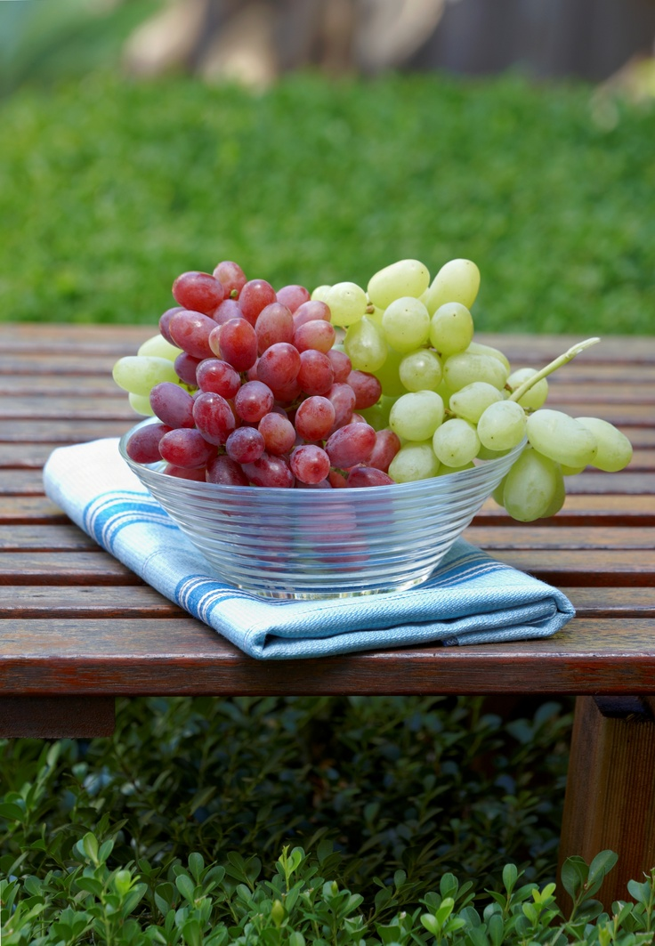 Australian Table Grapes are the perfect snack because they taste fresh, sweet and juicy, they're convenient – you can take them anywhere and store them easily – and they're a perfect bite size that's also easy to share. Plus they can be added to a whole host of recipes – from delicious summer salads to fruit kebabs.