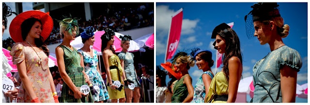 Racewear on parade at Ellerslie's The New Zealand Herald Boxing Day Races... image taken by our amazing RaceDay photographer, Greta Kenyon
