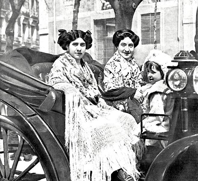 Romería de la Cara de Dios. 1912. Madrid.