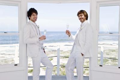 Alternatives to Tuxedos for Weddings thumbnail