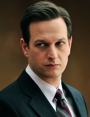 "Josh Charles - the reason I watch ""The Good Wife.""  Wish he was my personal lawyer..."