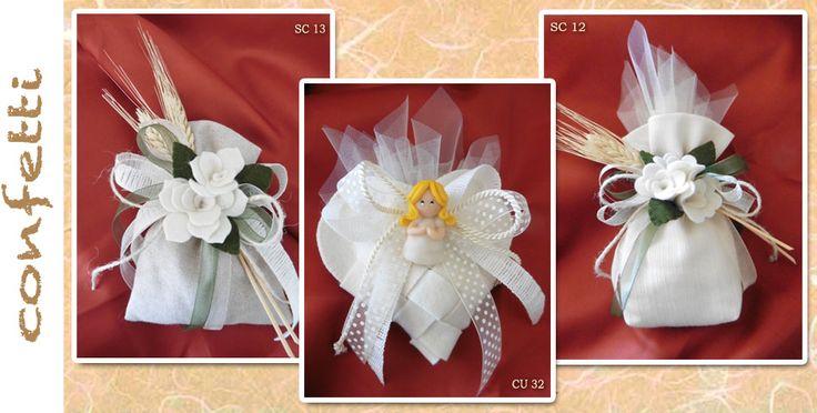 catalogo-progetto-miriam-sacchetto-confetti-bomboniere-solidali-comunione-spiga-spighe-decorazione-fiori-pannolenci-cuore-intrecciato-feltro-cernit-bambolina-angioletto-bambina-nastri.jpg (948×480)