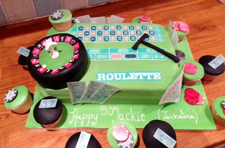 Casino cake all edible