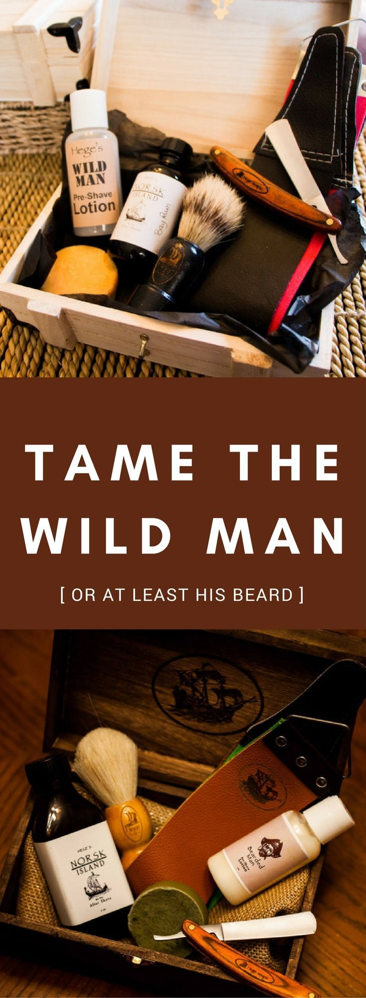 a close comfortable shave just like they used to do in the wild west :) This shaving kit contains a wonderful pre-shave lotion, shaving soap, a boar or badger bristle shaving brush, and a wood handle straight razor, strop for sharpening, and soothing Bay