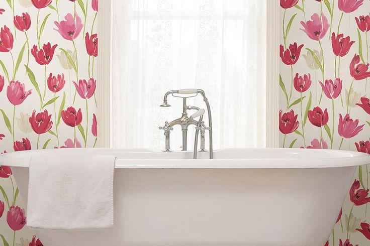 Bathroom Wallpaper | Wallpapers for Bathroom | Bathroom Wallpaper Patterns