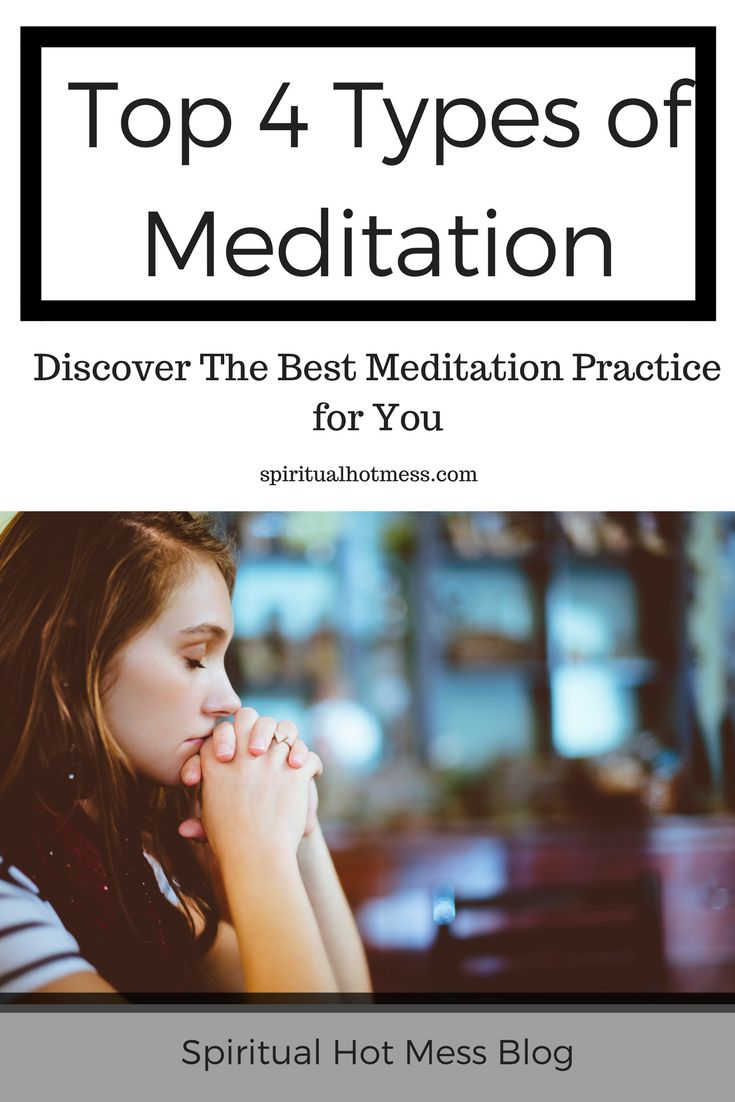 exploring the practices and types of meditation Kundalini meditation is a type of meditation that involves specific mudras (hand gestures), focal mantras, breathing techniques, or postures #2 mindfulness meditation.