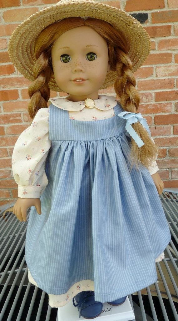"Reserved Listing 18"" Doll Clothes ""Anne Of Green Gables"" Style Outfit Fits American Girl Dolls"