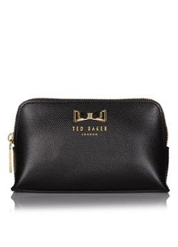 Ted Baker Miller make-up tas van leer