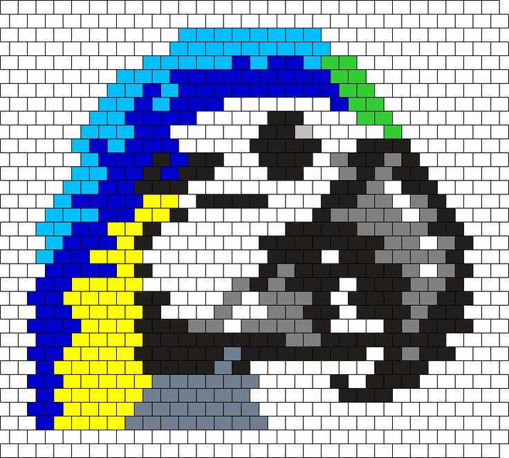 Bf Macaw Head Bead Pattern