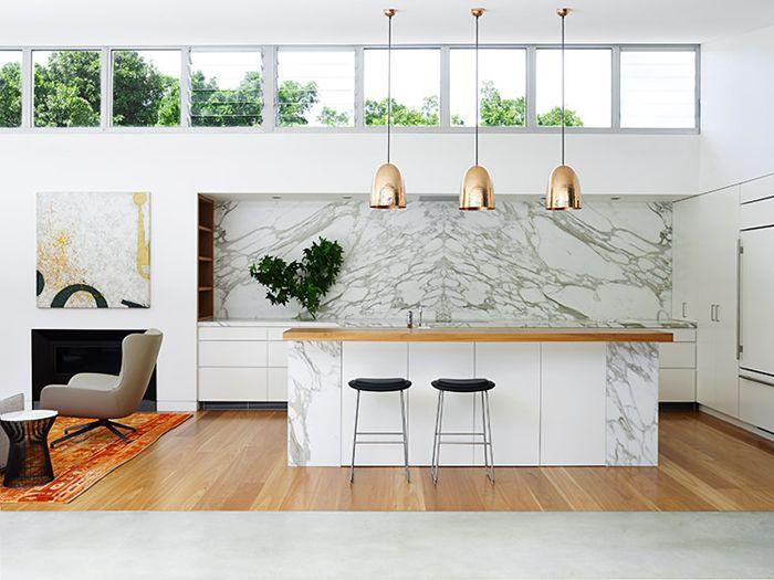 WHITE HOT: Eleven White Kitchens